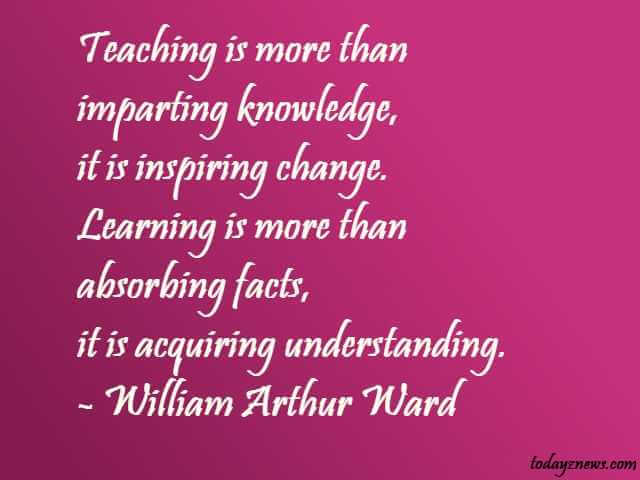 inspirational quotes for teachers with explanation