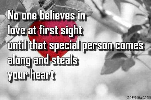 love at first sight quotes for him