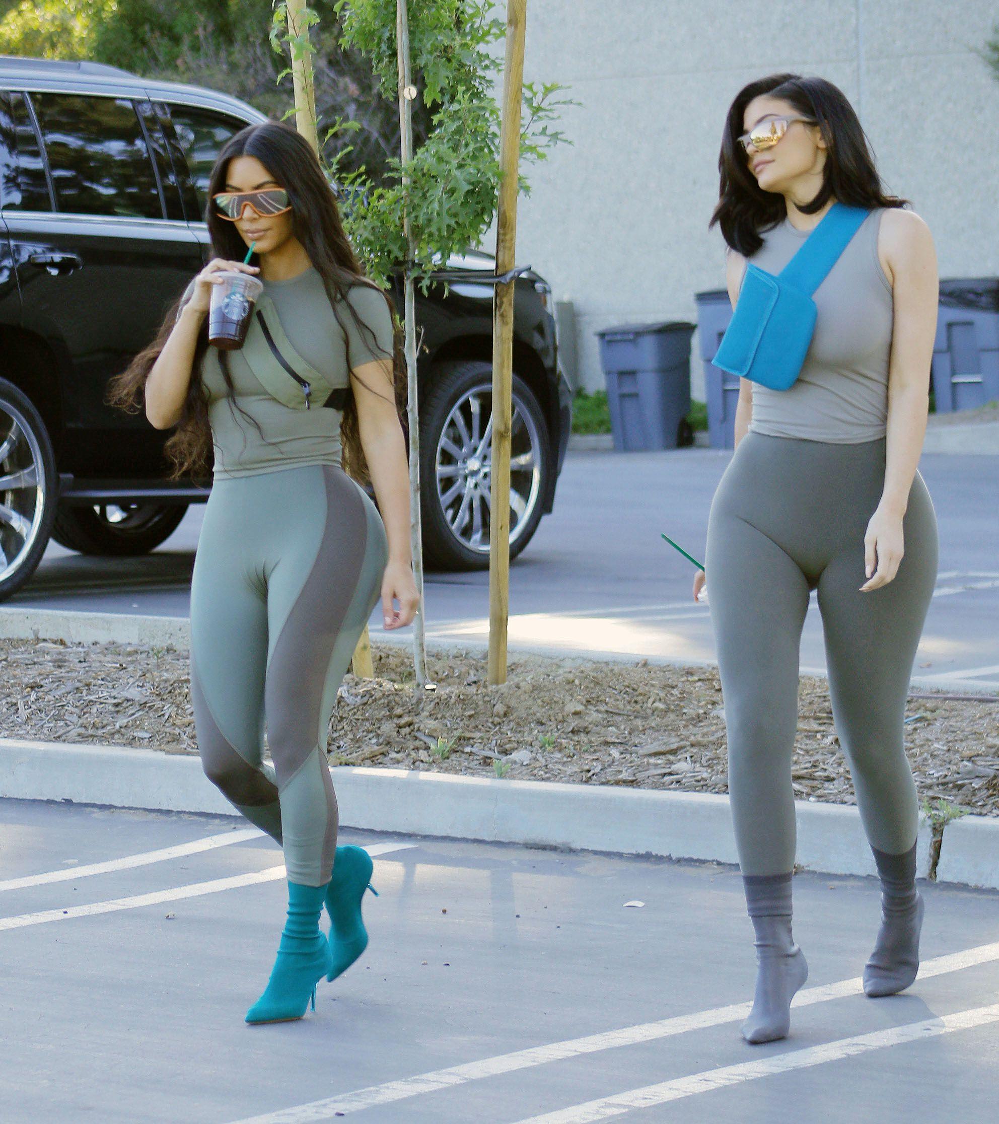 kim kardashian in yeezy season 8