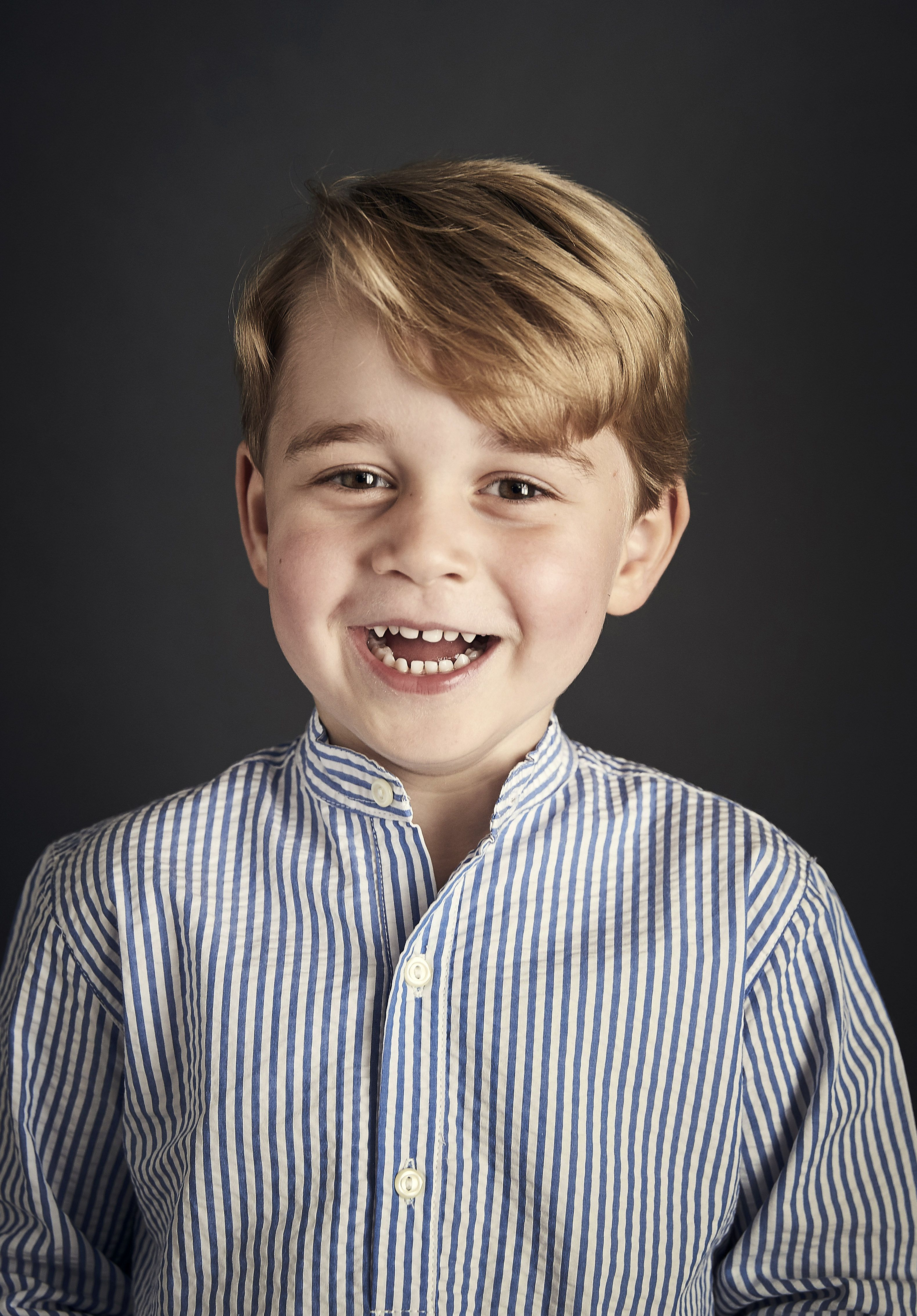 Prince George of Cambridge Turns 4