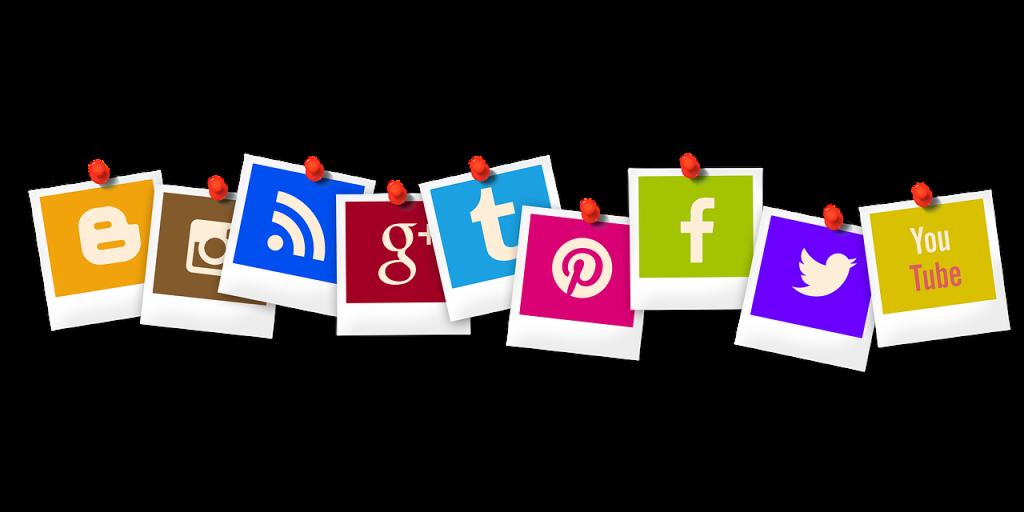 using social media channels