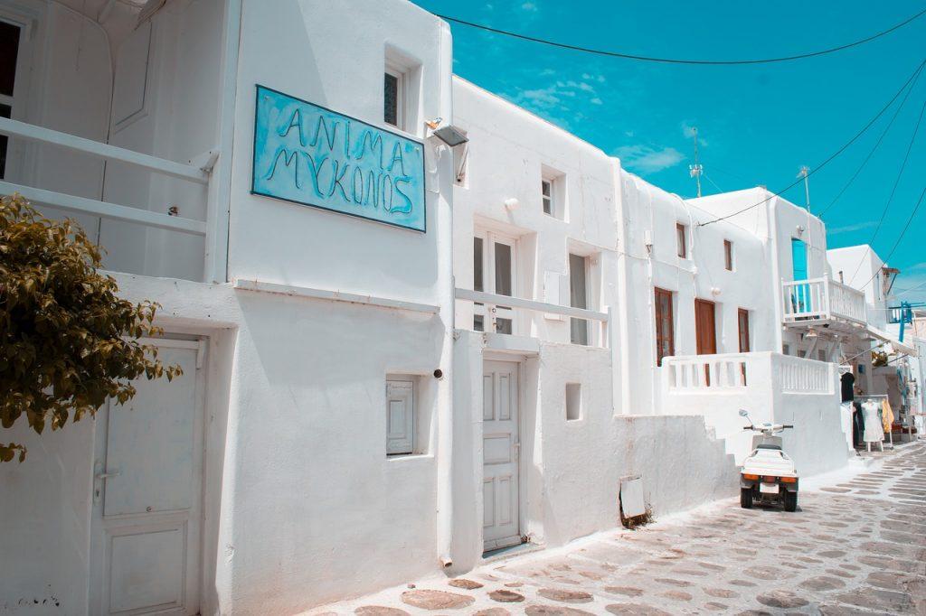 Amazing Architecture of Mykonos