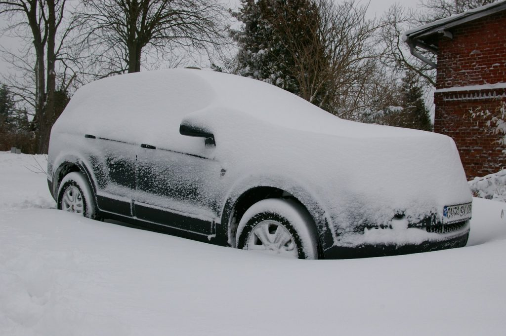 car during the winter months