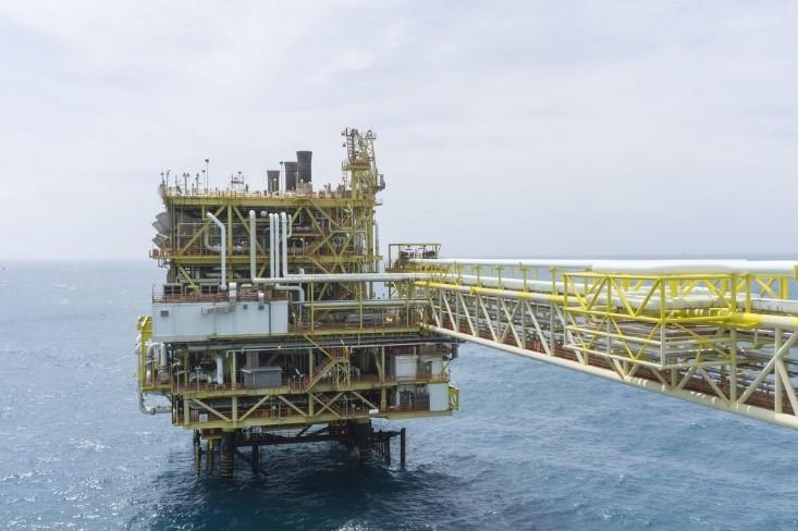 Houston oil rig