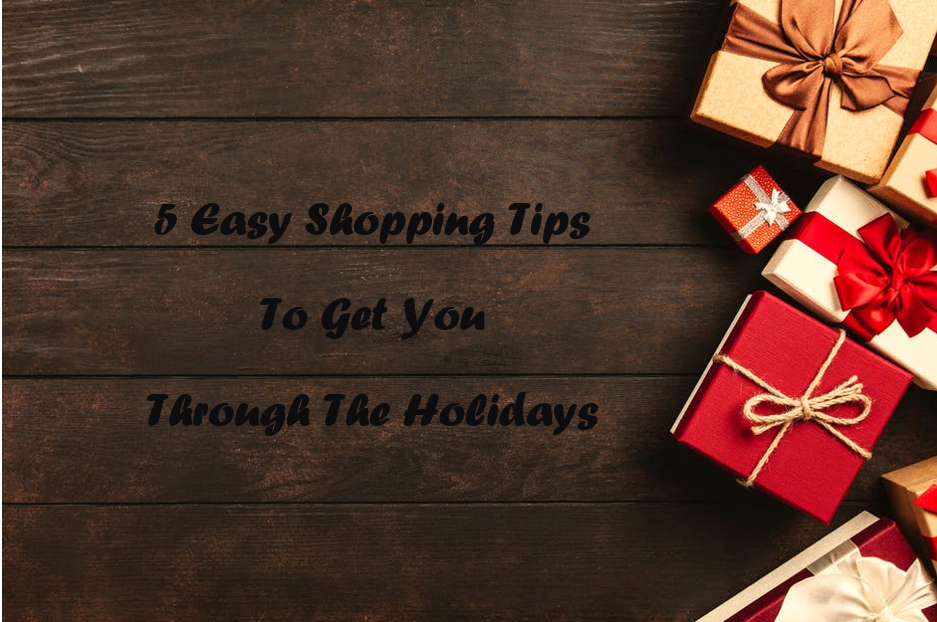 easy shopping tips