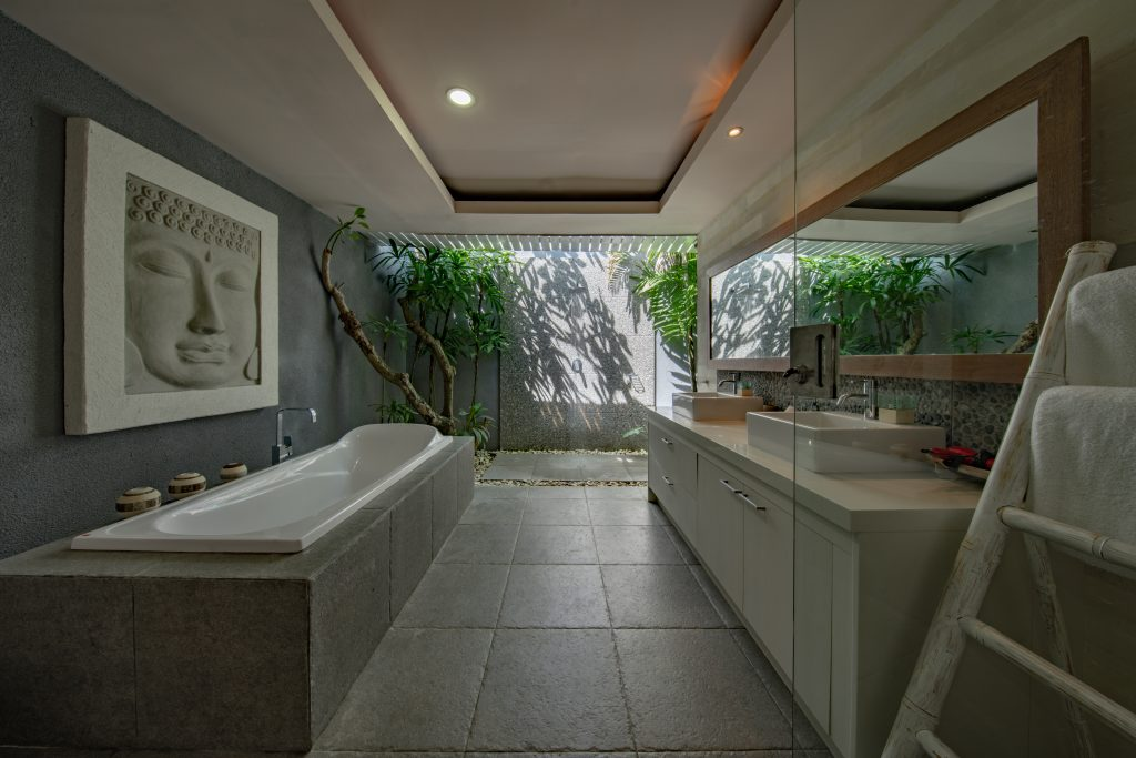 home spa bathroom