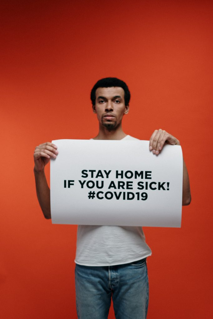 Sick - stay home