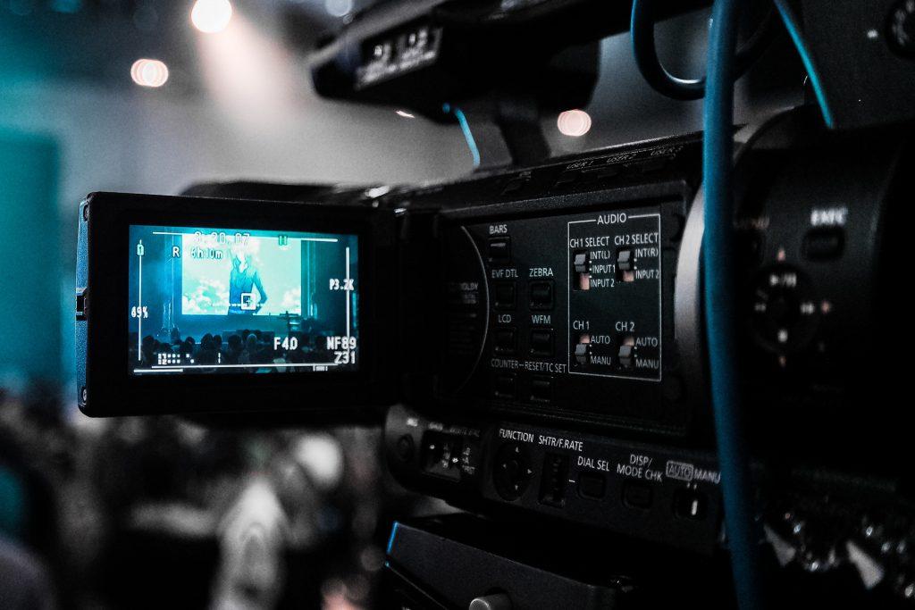 Promo video filming