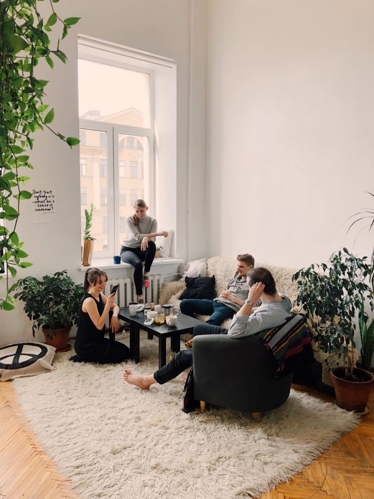 Social factors contributing to the popularity of shared living spaces