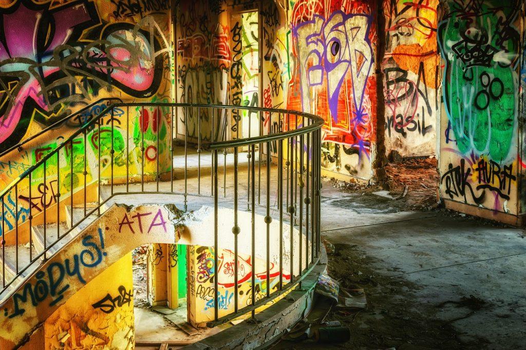 Is graffiti vandalism?