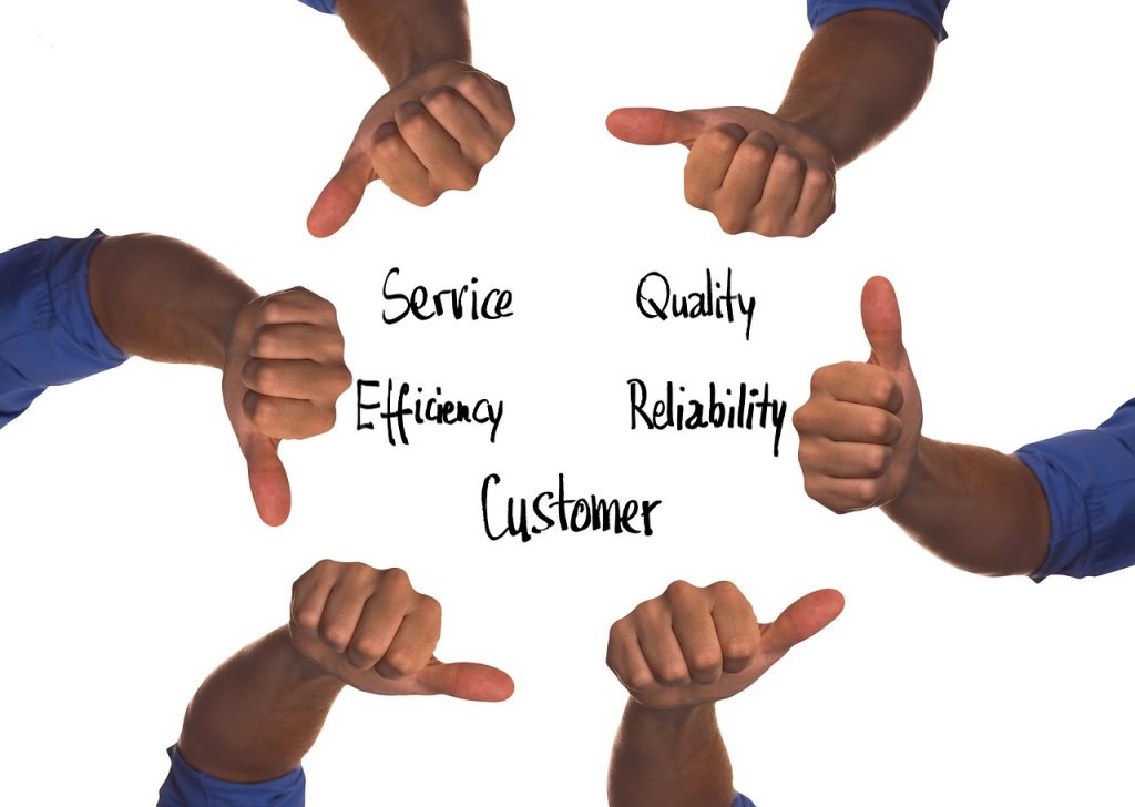 High quality customer relations management