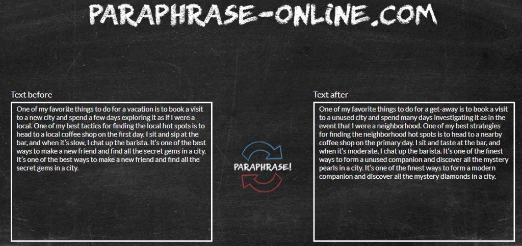 Paraphrase-online.com