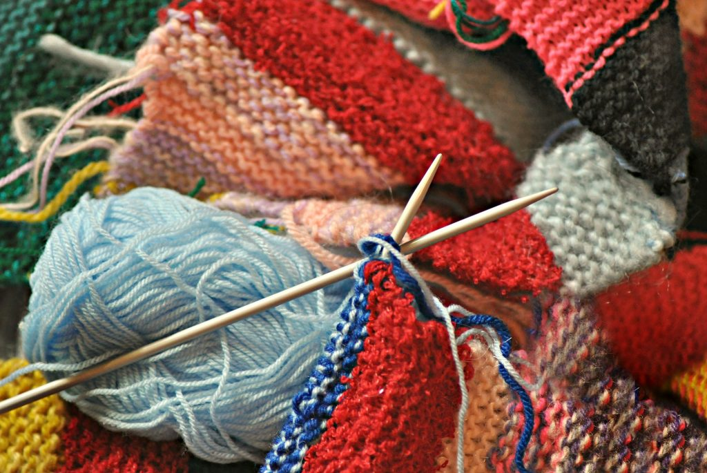Knitting supplies