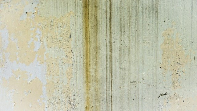 Water Stained walls